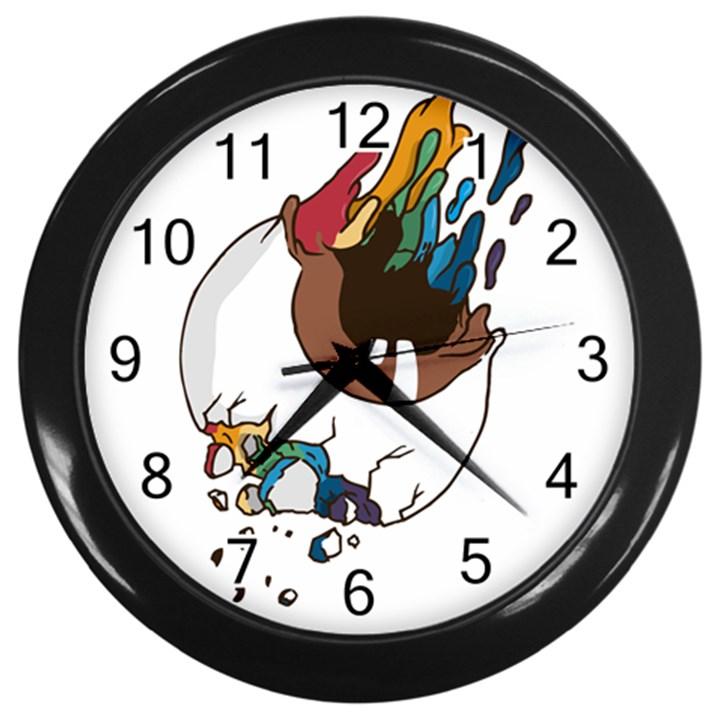 Watch it Wall Clock (Black)