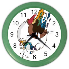 Watch It Wall Clock (color)
