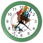 Watch it Wall Clock (Color) Front