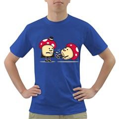 Magic Mushrooms Mens' T-shirt (Colored)
