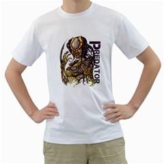 Predator Mens  T-shirt (White)