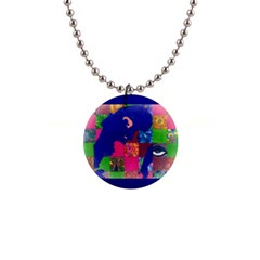 Busy Work Button Necklace