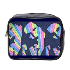 Subtle Change Color Mini Travel Toiletry Bag (Two Sides)
