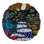 Out of this World 18  Premium Round Cushion  Front