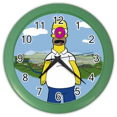 Son Of The Donut Wall Clock (color)