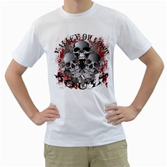 Valley Of Lost Souls Mens  T-shirt (White)