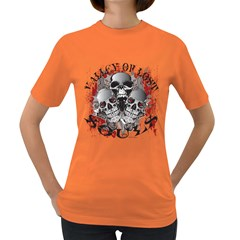 Valley Of Lost Souls Womens' T Shirt (colored)