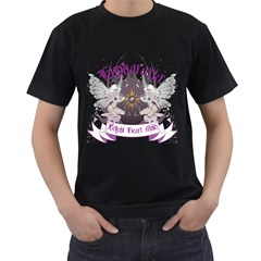 Eupharraxia Mens' Two Sided T Shirt (black)
