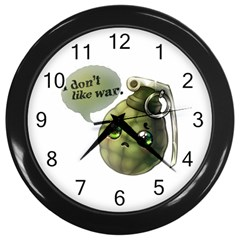 Grenade  Wall Clock (Black)