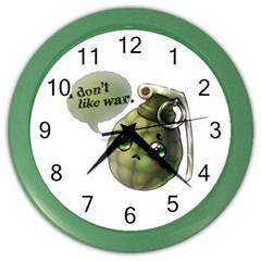Grenade  Wall Clock (Color)