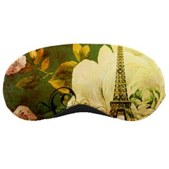 Floral Eiffel Tower Vintage French Paris Sleeping Mask