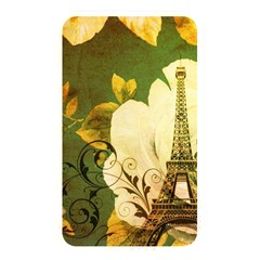 Floral Eiffel Tower Vintage French Paris Memory Card Reader (Rectangular)