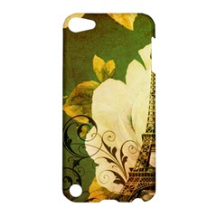 Floral Eiffel Tower Vintage French Paris Apple Ipod Touch 5 Hardshell Case
