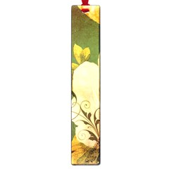 Floral Eiffel Tower Vintage French Paris Large Bookmark
