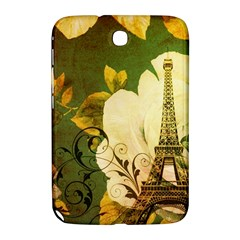Floral Eiffel Tower Vintage French Paris Samsung Galaxy Note 8.0 N5100 Hardshell Case