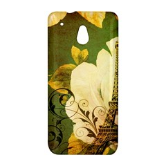 Floral Eiffel Tower Vintage French Paris HTC 601e (One Mini) M4 Hardshell Case
