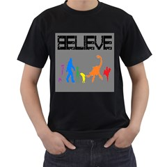We re Not Alone! Mens' T Shirt (black)