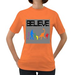 We re Not Alone! Womens' T Shirt (colored)