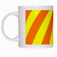 Oranges And Lemons White Coffee Mug