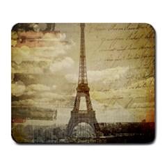 Elegant Vintage Paris Eiffel Tower Art Large Mouse Pad (Rectangle)