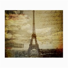 Elegant Vintage Paris Eiffel Tower Art Glasses Cloth (Small)