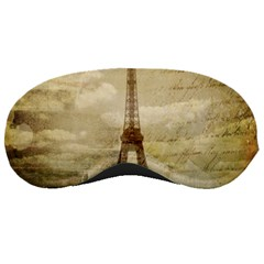Elegant Vintage Paris Eiffel Tower Art Sleeping Mask