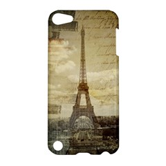 Elegant Vintage Paris Eiffel Tower Art Apple Ipod Touch 5 Hardshell Case