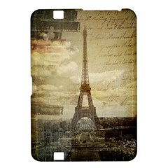Elegant Vintage Paris Eiffel Tower Art Kindle Fire HD 8.9  Hardshell Case