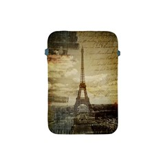 Elegant Vintage Paris Eiffel Tower Art Apple Ipad Mini Protective Soft Case