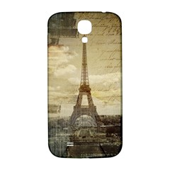 Elegant Vintage Paris Eiffel Tower Art Samsung Galaxy S4 I9500/I9505  Hardshell Back Case
