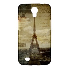 Elegant Vintage Paris Eiffel Tower Art Samsung Galaxy Mega 6.3  I9200