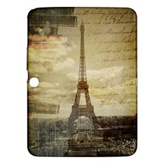 Elegant Vintage Paris Eiffel Tower Art Samsung Galaxy Tab 3 (10 1 ) P5200 Hardshell Case