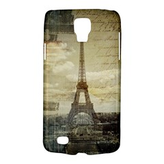 Elegant Vintage Paris Eiffel Tower Art Samsung Galaxy S4 Active (i9295) Hardshell Case