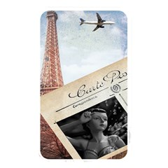 French Postcard Vintage Paris Eiffel Tower Memory Card Reader (Rectangular)