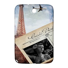 French Postcard Vintage Paris Eiffel Tower Samsung Galaxy Note 8 0 N5100 Hardshell Case