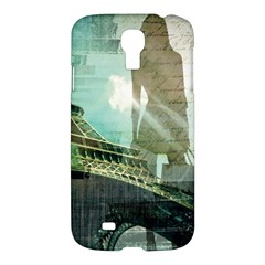 Modern Shopaholic Girl  Paris Eiffel Tower Art  Samsung Galaxy S4 I9500/i9505 Hardshell Case