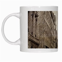 Elegant Red Kiss Love Paris Eiffel Tower White Coffee Mug