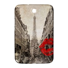 Elegant Red Kiss Love Paris Eiffel Tower Samsung Galaxy Note 8.0 N5100 Hardshell Case