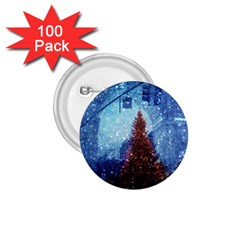 Elegant Winter Snow Flakes Gate Of Victory Paris France 1 75  Button (100 Pack)