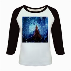 Elegant Winter Snow Flakes Gate Of Victory Paris France Women s Long Cap Sleeve T-Shirt