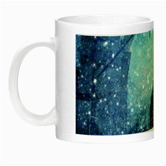 Elegant Winter Snow Flakes Gate Of Victory Paris France Glow In The Dark Mug