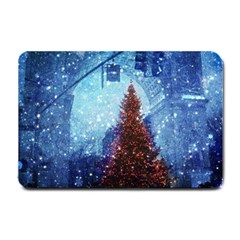 Elegant Winter Snow Flakes Gate Of Victory Paris France Small Door Mat