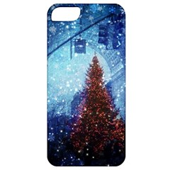 Elegant Winter Snow Flakes Gate Of Victory Paris France Apple iPhone 5 Classic Hardshell Case