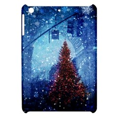 Elegant Winter Snow Flakes Gate Of Victory Paris France Apple iPad Mini Hardshell Case