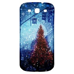 Elegant Winter Snow Flakes Gate Of Victory Paris France Samsung Galaxy S3 S Iii Classic Hardshell Back Case
