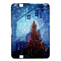 Elegant Winter Snow Flakes Gate Of Victory Paris France Kindle Fire HD 8.9  Hardshell Case
