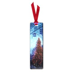 Elegant Winter Snow Flakes Gate Of Victory Paris France Small Bookmark