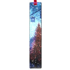Elegant Winter Snow Flakes Gate Of Victory Paris France Large Bookmark