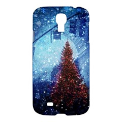 Elegant Winter Snow Flakes Gate Of Victory Paris France Samsung Galaxy S4 I9500/I9505 Hardshell Case