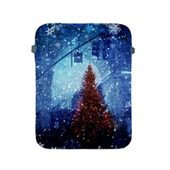 Elegant Winter Snow Flakes Gate Of Victory Paris France Apple Ipad 2/3/4 Protective Soft Case